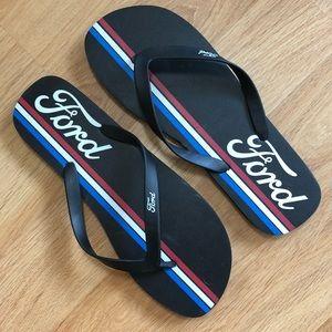 Ford flip-flops